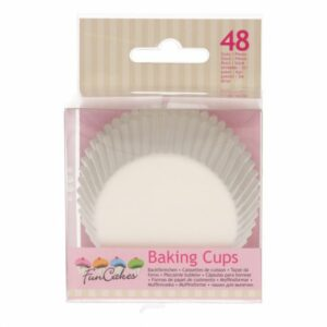 Funcakes Baking Cups - Wit